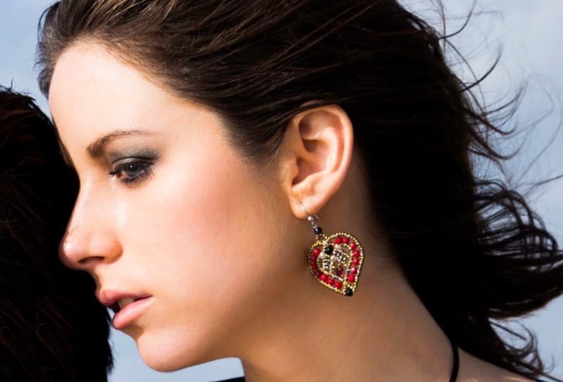 Earrings Coeur