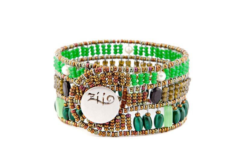 Ziio Jewels Bracelet Fenice Green