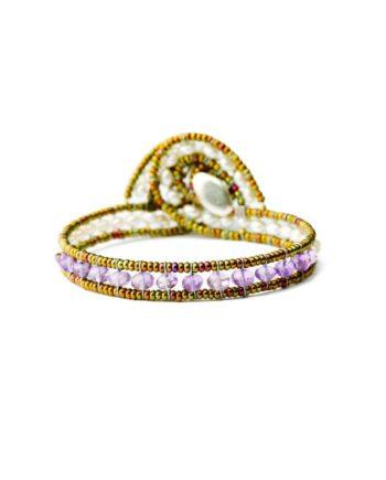 BRACELET MINUS AMETHYST-Ziio-Jewels