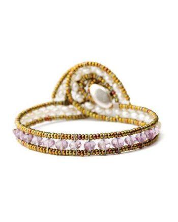 Handmade Bracelet MINUS Amethyst