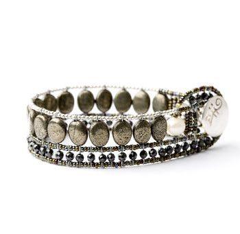 Handmade Bracelet RIVIERE Bronzo