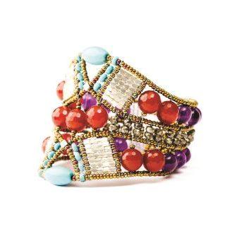 Handmade Bracelet SAHA Red