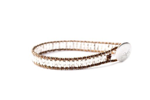 Handmade Bracelet SIL Silver
