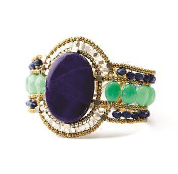 Handmade Bracelet SUN Lapis Lazuli