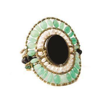 handmade Bracelet SUN Large Onyx Cryso