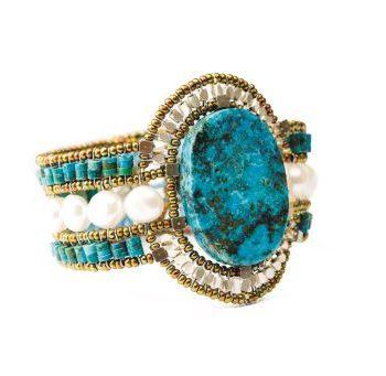 Handmade Bracelet SUN Turquoise