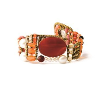 Handmade Bracelet THIN Red Onyx