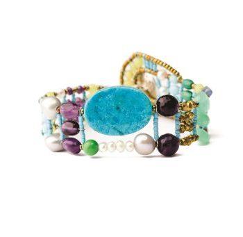 Handmade Bracelet THIN Turquoise