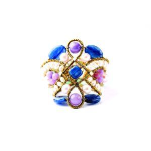 Handmade-Bracelet-Knot-lilla-2