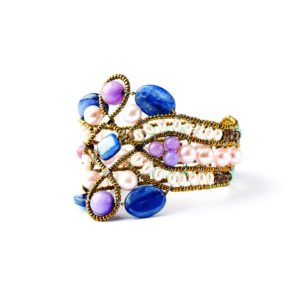 Handmade-Bracelet-Knot-lilla 3