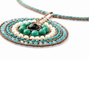 Handmade-necklace-VENUS-Blue-2