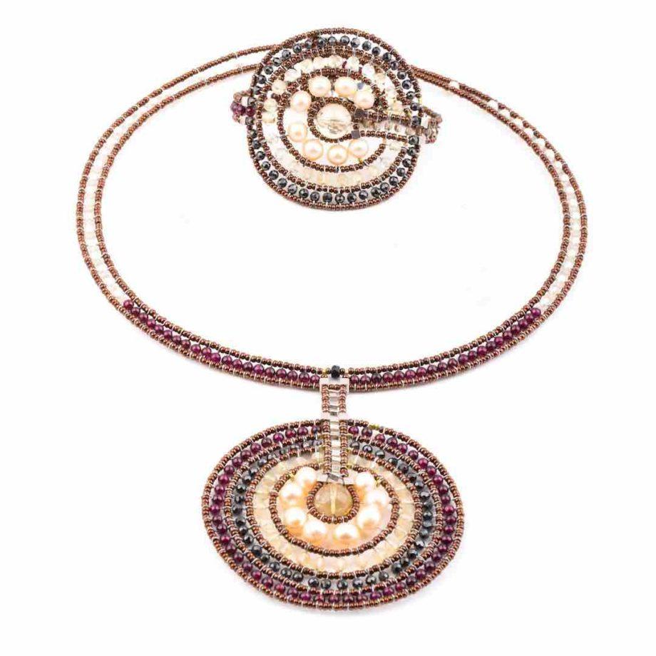 Necklace VENUS CITRINE-Ziio-Jewels