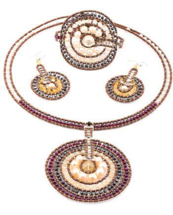 Handmade Necklace VENUS Citrine