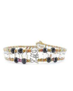 Ziio Bracelet GOUTTE Black