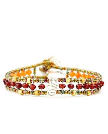 Ziio Bracelet GOUTTE Orange