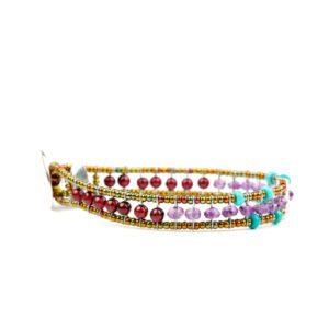 Ziio Bracelet GOUTTE Violet Side