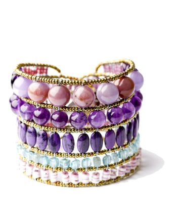Handmade Bracelet MONOCROMO Violet