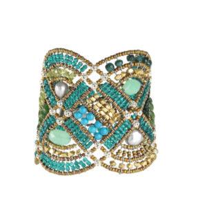 Ziio Bracelet NEW ROMANCE Green