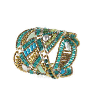 Ziio Bracelet NEW ROMANCE Green Diag