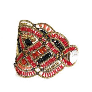 Ziio Bracelet NEW ROMANCE Red Lato