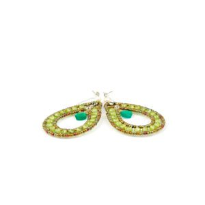 Ziio Earrings GOUTTE Green