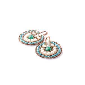 Ziio Earrings VENUS Blue