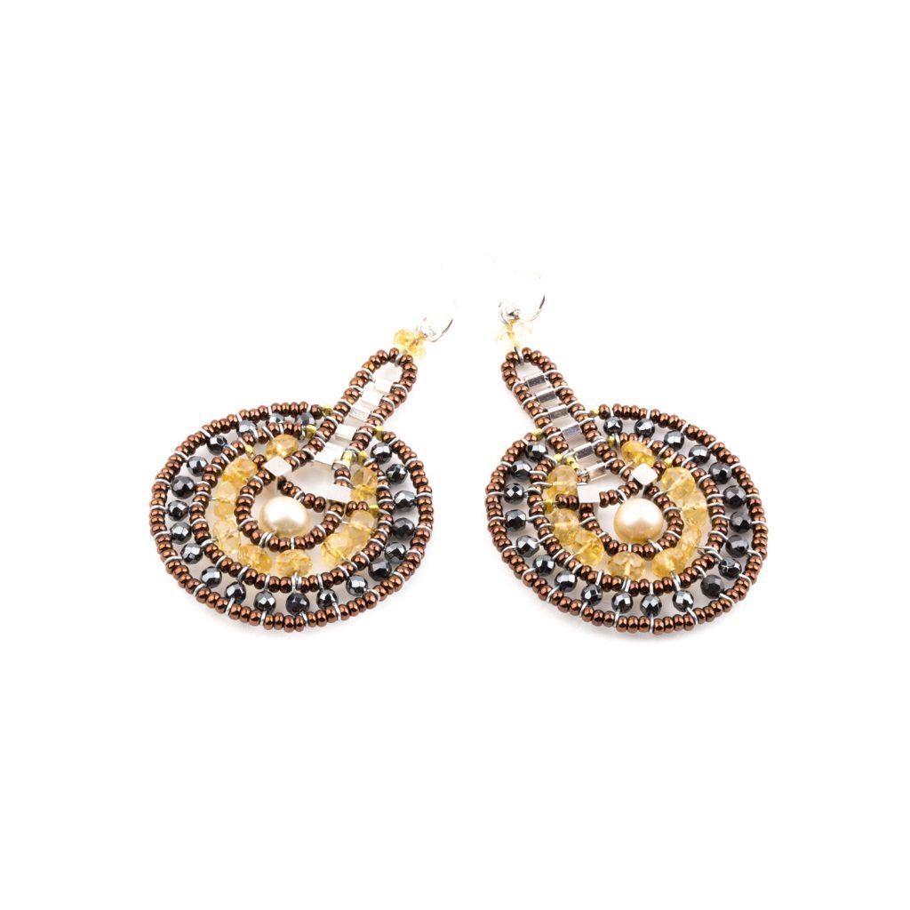 Handmade EARRINGS VENUS CITRINE - Ziio Jewels