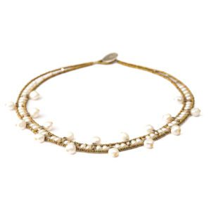 Ziio Necklace Crown Pearl