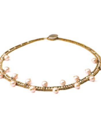 Collana Crown Pink