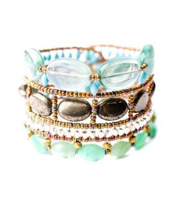 ziio jewels Bracelet ATLAS Acqua