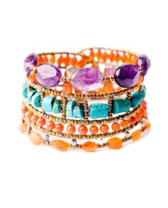 ziio jewels Bracelet ATLAS Violet