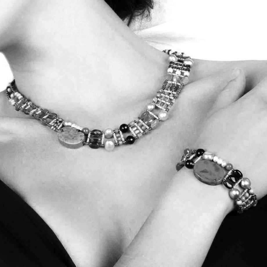 ziio jewels Bracelets and Necklace THIN