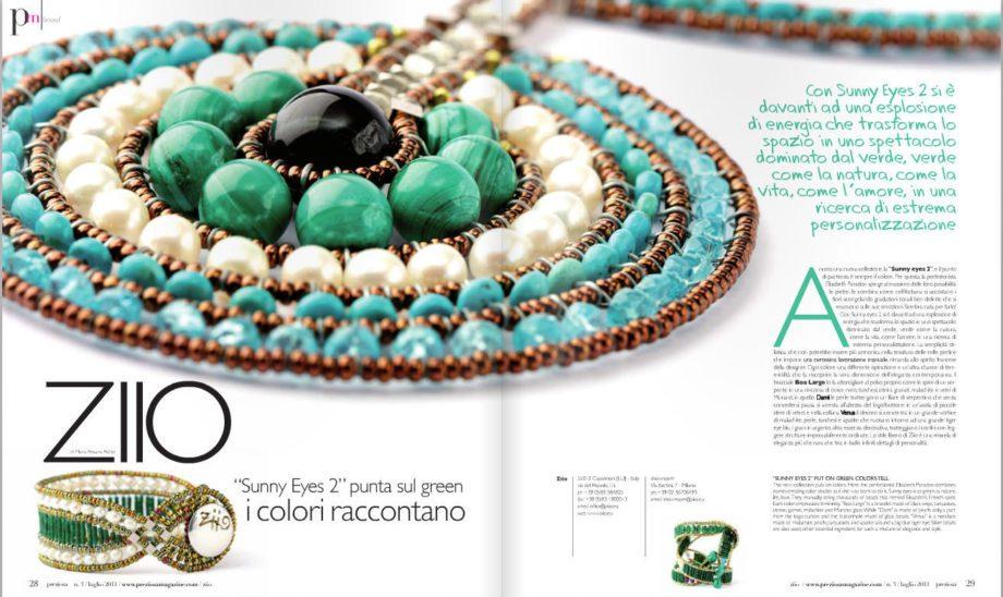 ziio jewels Preziosa Necklace VENUS Blu