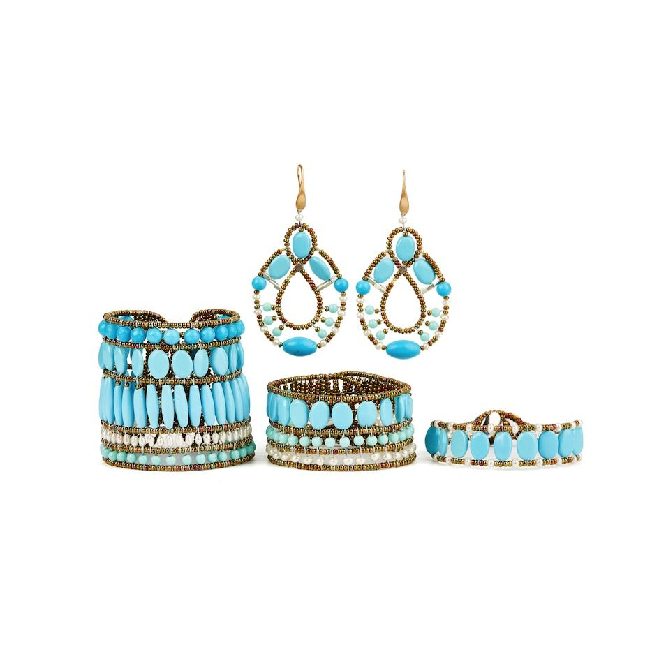 ziio permanent jewels collection Mix Turquoise