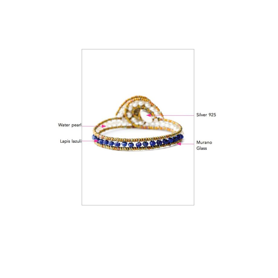 ziio jewels LEGENDE BRACELET MINUS LAPIS