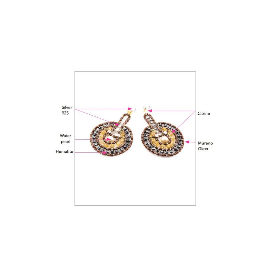 ziio-jewels-LEGENDE-EARRING-VENUS-CITRINE