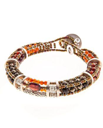 Handmade-Bracelet-3D-WALL-RED-ziio