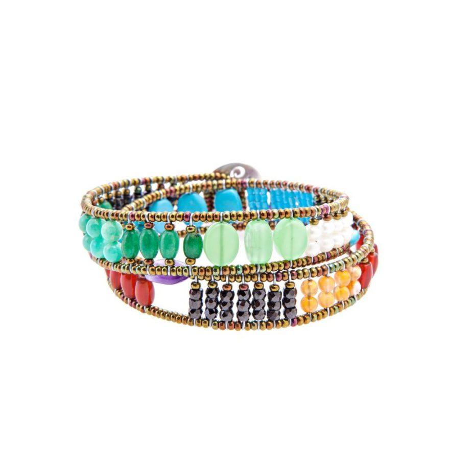 Handmade-Bracelet-BOA-KNOTT-RAINBOW-ziio