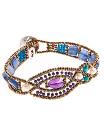 Handmade Bracelet RHA BLU ziio
