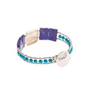 Handmade-Bracelet-SHINE-LAPIS-TURQUOISE-BACK-ziio