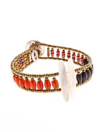Handmade-Bracelet-SIL-TETHIS-RED-ziio