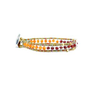 Bracelet Bracciale Goutte Orange ziio jewels