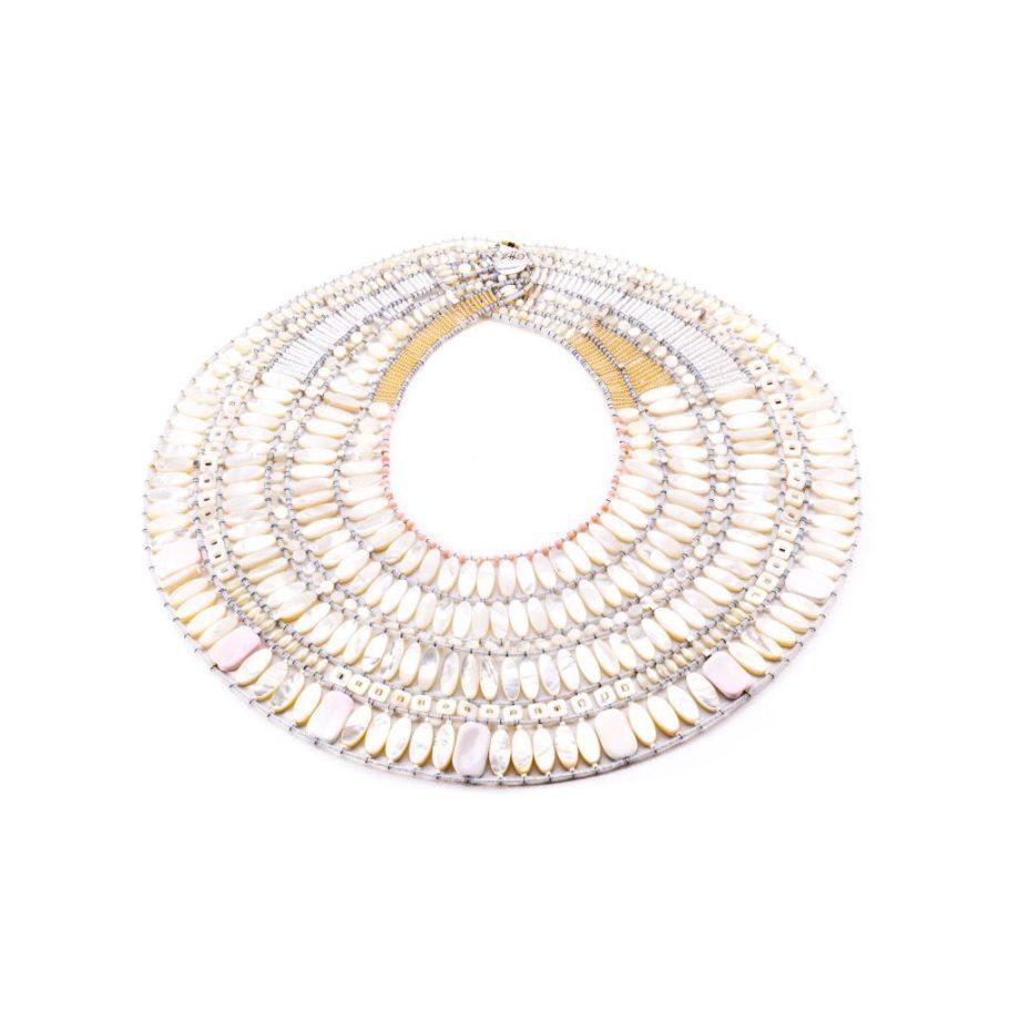 handmade necklace LUMIERE large ZIIO JEWELS