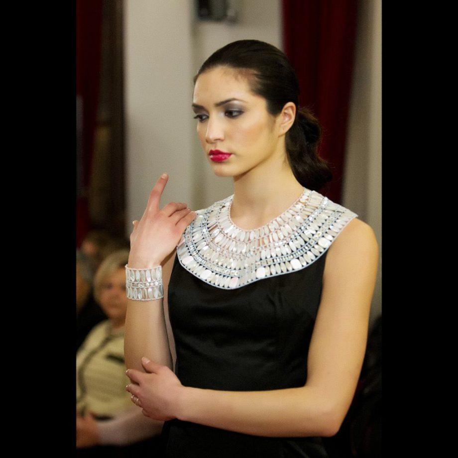handmade necklace lumiere ind3 ziio jewels