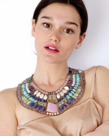 Necklace CLEOPATRA Pastel