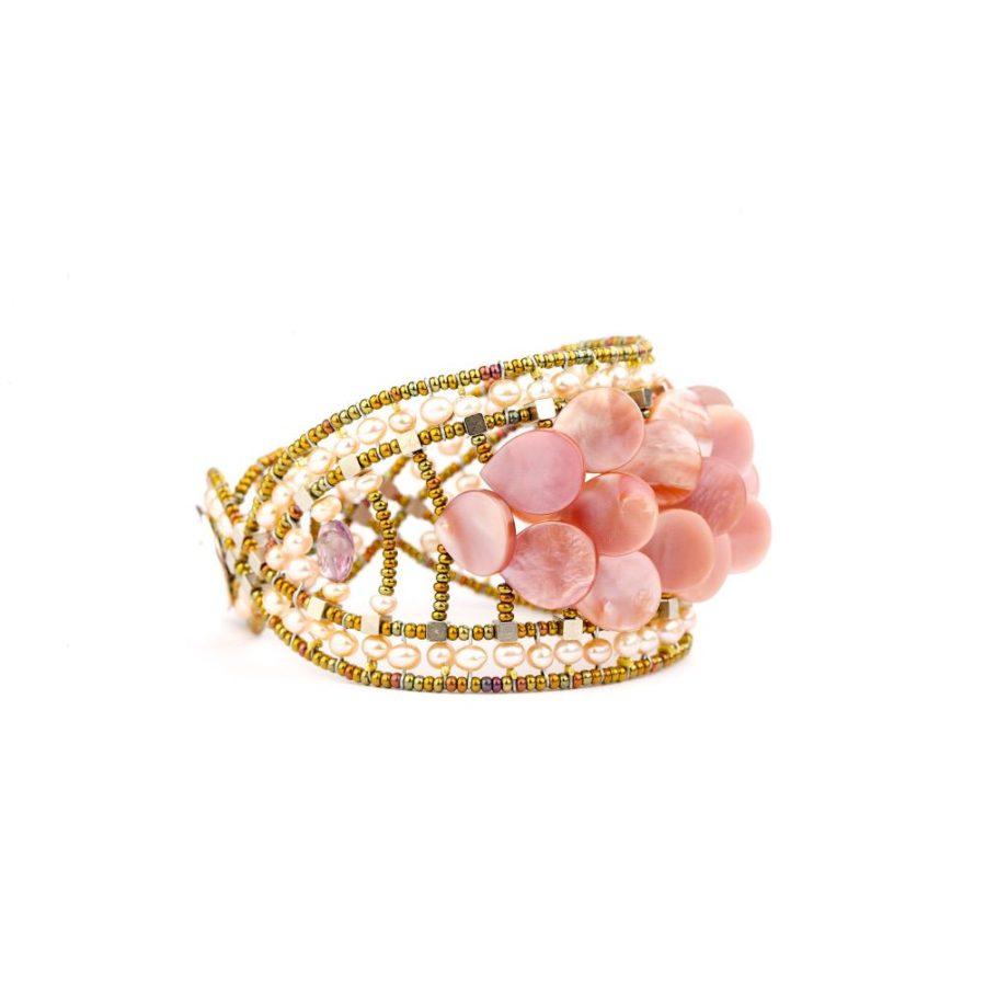 Handmade Bracelet MERMAID Pink