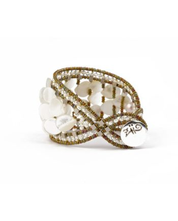 Handmade Bracelet MERMAID White