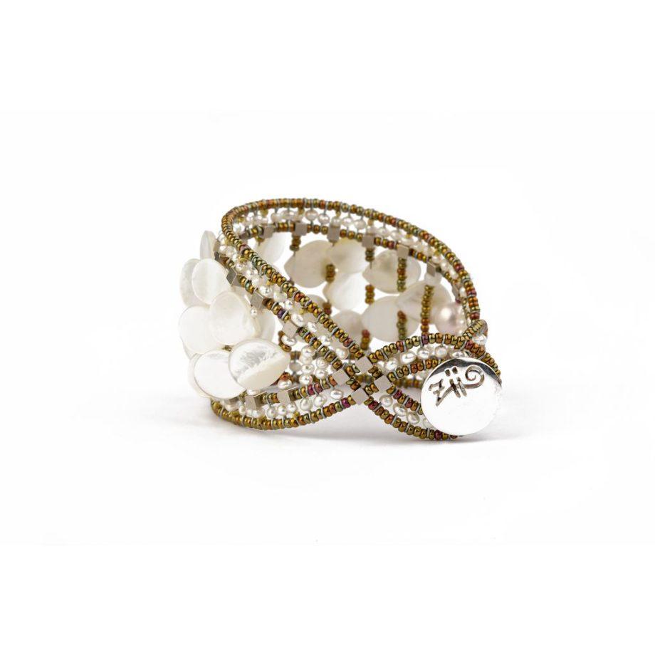 Handmade Bracelet MERMAID White