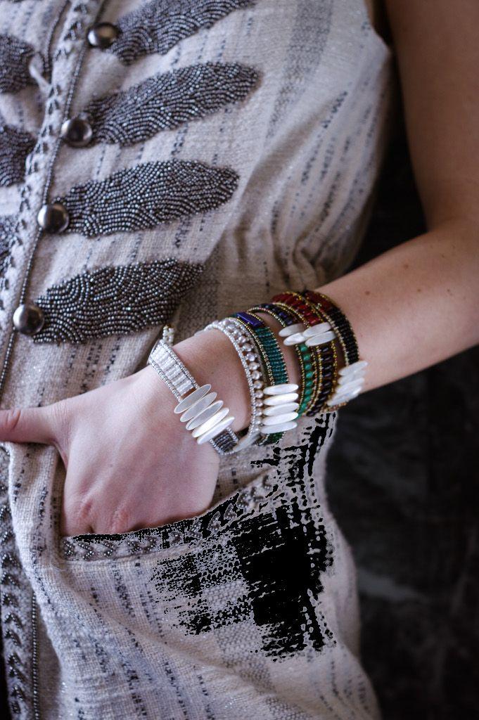 Handmade Bracelet SIL TETHIS Red