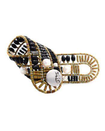 Bracelet Fenice Black Pearl